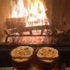 Cómo hacer Sopa de calabaza con Harissa y almendra Crostini