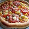 Cómo hacer rellenas corteza Pizza vegetariana