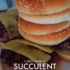 Cómo hacer hamburguesas de carne suculentas From Scratch
