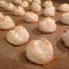 Cómo hacer sin azúcar Macarrones de coco