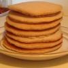 Cómo hacer super simple de Apple canela Pancakes