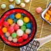 Cómo hacer dulces de arroz glutinoso bolas