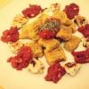 Cómo hacer dulce Gnocchi de patata W / salsa de tomate y pollo