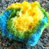 Cómo hacer Tie Dye Cupcakes