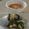 Cómo hacer Rolls Tofu Espinacas