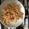 Cómo hacer Tortellini W / tomate seco salsa de crema