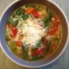 Cómo hacer Triple Sopa de Frijoles