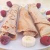 Cómo hacer Vanilla proteínas y almendra mantequilla Crêpes
