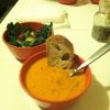 Cómo hacer vegano zanahoria jengibre sopa