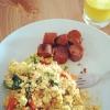 Cómo hacer vegano del queso de soja Scramble (mejor que los huevos!)