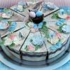 Cómo hacer favores pastel de bodas