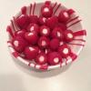 Cómo hacer blanco Aperitivos frambuesa chocolate