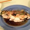 Cómo hacer el pescado entero en salsa de jengibre Escalona