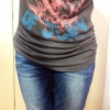 Cómo hacer tu propio Scrunched camiseta