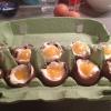 Cómo hacer delicioso relleno de chocolate y huevos