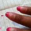 Cómo hacer cebra Consejo Francés Nail Art