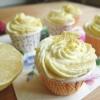 Cómo hacer Zesty Cupcakes de limón
