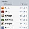 Cómo administrar iPhone Memoria (Local y iCloud)