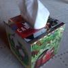 Cómo Mod Podge un Tissue Box Cover