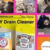 Cómo limpiar naturalmente su Drenajes