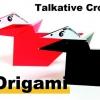 Cómo origami un cuervo lindo