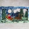 Cómo pintar la tarjeta de Navidad del conglomerado 3D por Marta De