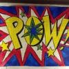 Cómo pintar un Lichtenstein onomatopeya