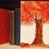 Cómo pintar un árbol usando un cepillo del plato