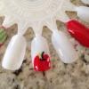 Cómo pintar las manzanas en las uñas