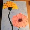 Cómo pintar flores en la lona