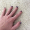 Cómo pintar Glittery Nails