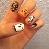 Cómo pintar las uñas de Halloween