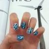 Cómo pintar estampado leopardo Nails