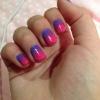 Cómo pintar Ombre Gradient Nails