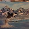 Cómo pintar con los dedos de la orca