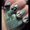 Cómo pintar Piano Nail Art