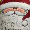 Cómo pintar de Papá Noel