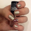 Cómo pintar brillante estampado leopardo Nails