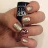 Cómo pintar brillante estampado leopardo Nails