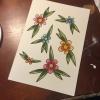 Cómo pintar Tattoo Flash (Flores)