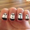 Cómo pintar Tuxedo Nails!