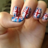 Cómo pintar Union Jack Nails!