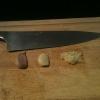 Cómo pelar y cortar un Diente de ajo
