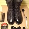Cómo pulir las botas de combate