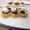 Cómo preparar Pound Cake Copas de frutas
