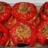 Cómo preparar la embutidora Peppers Con Carne