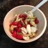 Cómo rápida tomate, alcachofa y mozzarella Ensalada