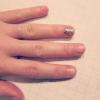 Cómo quitar Glitter Nail Polish in One Swipe