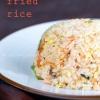 Cómo Salmón Fried Rice