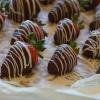 Cómo secreto al chocolate cubrió la fresa perfecta